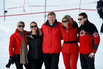 Queen Maxima of the Netherlands of The Netherlands The Dutch Royal Family Attend Their Annual Winter Photocall