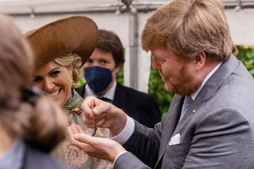 Queen Maxima King Willem-Alexander Of The Netherlands And Queen Máxima Visit Berlin - Day Three