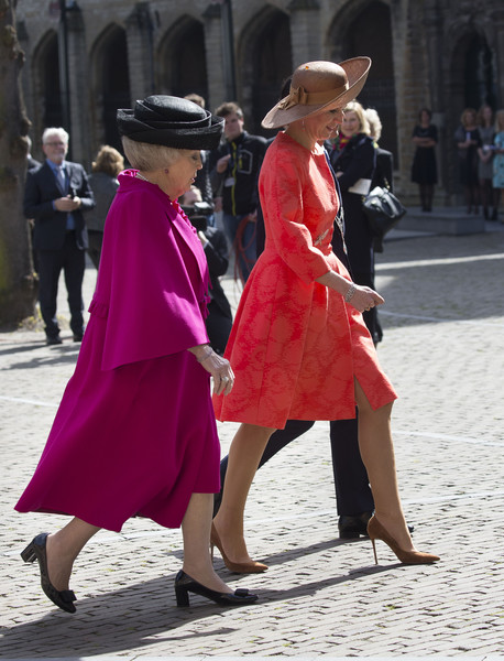 King Willem-Alexander & Queen Maxima of the Netherlands Attend Four Freedoms Awards