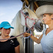 Queen Maxima Queen Maxima Of The Netherlands Opens 'No Limits Horse Manage' In Noordwijk