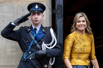 Queen Maxima Dutch Royal Family Attends New Year Reception For Diplomatic Corps At Royal Palace In Amsterdam