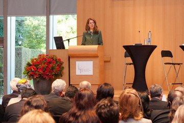 Queen Noor General Views of the icmp International Commission