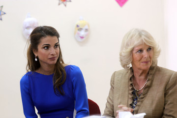 Queen Rania Prince Charles And The Duchess Of Cornwall Visit Jordan - Day 2