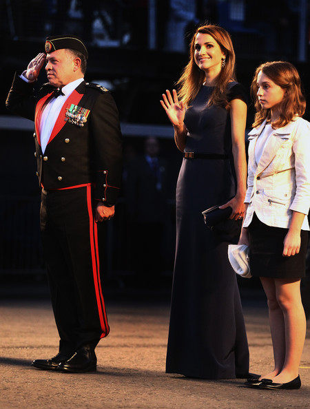 ... King And Queen Of Jordan Attend The Royal Edinburgh Military Tattoo