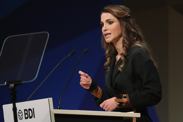 Queen Rania German Federation Of Industry Annual Congress