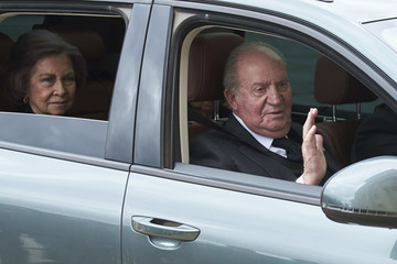 Queen Sofia King Juan Carlos I Spanish Royals Attend 25th Anniversary of  King Juan Carlos' Father's Death