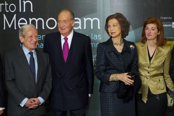 Politicians Attend Tribute Concert For Terrorism Victims in Madrid