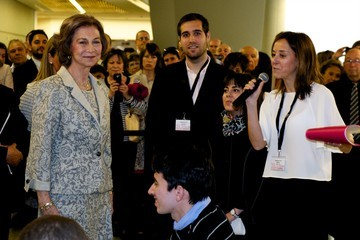 Queen Sofia 50th Anniversary of ASPANIAS Association