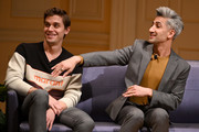 "Cast members of ""Queer Eye"" (left-right) Antoni Porowski and Tan France at The Library of Congress on April 03, 2019 in Washington, DC."