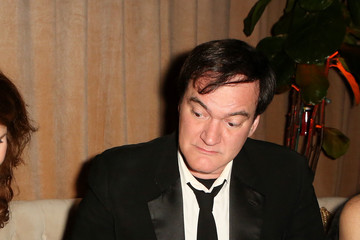 Quentin Tarantino Arrivals at the Weinstein Company & Netflix 2016 Golden Globes After Party