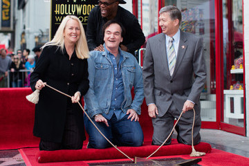 Quentin Tarantino Samuel L. Jackson Quentin Tarantino Honored With Star on the Hollywood Walk of Fame