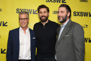 Producer Brad Fuller, director/executive producer/writer John Kransinski and producer Andrew Form attend the Opening Night Screening and World Premiere of 'A Quiet Place' during the 2018 SXSW Film Festival on March 9, 2018 in Austin, Texas.
