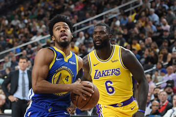 Quinn Cook Golden State Warriors vs. Los Angeles Lakers