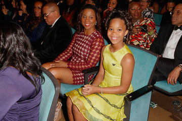 Quvenzhane Wallis 46th NAACP Image Awards Presented By TV One - Backstage And Audience