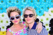 Jaime Winstone and Alfie Allen attend REVOLVEclothing's VIP Festival Event - Day 2 at The Saguaro Palm Springs on April 14, 2013 in Palm Springs, California.