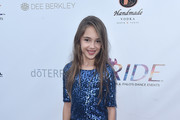 Julia Butters attends the RIDE Foundation's 2nd Annual Dance For Freedon at gala The Broad Stage on September 29, 2018 in Santa Monica, California.