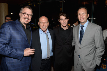 """RJ Mitte Vince Gilligan """"Breaking Bad"""" NY Premiere 2013 - After Party"""