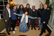 """(L-R) Producer Nicolás Celis, VFX Producer Bryce Nielsen, Producer Adam Gough, Producer Gabriela Rodriguez, Sound Designer Craig Henighan, Production Designer Eugenio Caballero, Peter Fonda and Production Designer Skip Lievsay  attend """"ROMA"""" Tastemakers at Chateau Marmont on January 12, 2019 in Los Angeles, California."""