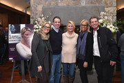 Geralyn Dreyfous, Governor Andrew M. Cuomo, Sandra Lee, Amy Baker and Barry Baker attend the RX: Early Detection A Cancer Journey With Sandra Lee At Sundance Film Festival 2018 on January 22, 2018 in Park City, Utah.