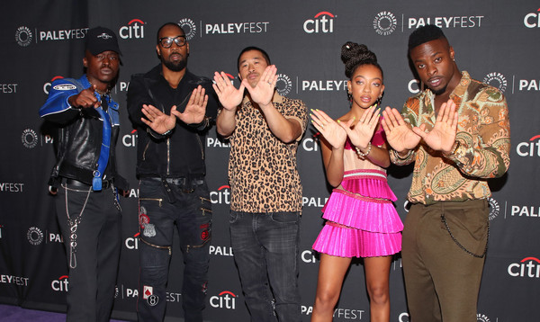 The Paley Center For Media's 2019 PaleyFest Fall TV Previews - Hulu - Arrivals [paleyfest fall tv previews,event,performance,singer,talent show,music artist,arrivals,johnell young,alex tse,rza,zolee griggs,ashton sanders,hulu,l-r,paley center for media]