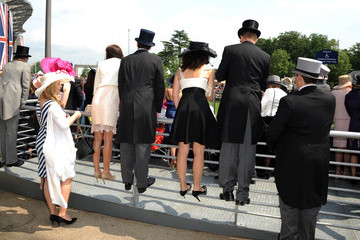 Race goers Day Four at the Royal Ascot Racecourse