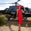Rachael Finch Celebrities Arrive With Uber At Lexus Melbourne Cup Day