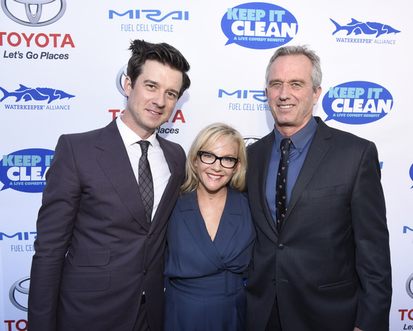 Keep It Clean Comedy Benefit For Waterkeeper Alliance [event,white-collar worker,suit,premiere,smile,company,rachel harris,president,christian hebel,bobby kennedy jr.,it clean comedy benefit for waterkeeper alliance,avalon,california,hollywood,board of waterkeeper alliance,keep it clean comedy benefit for waterkeeper alliance]
