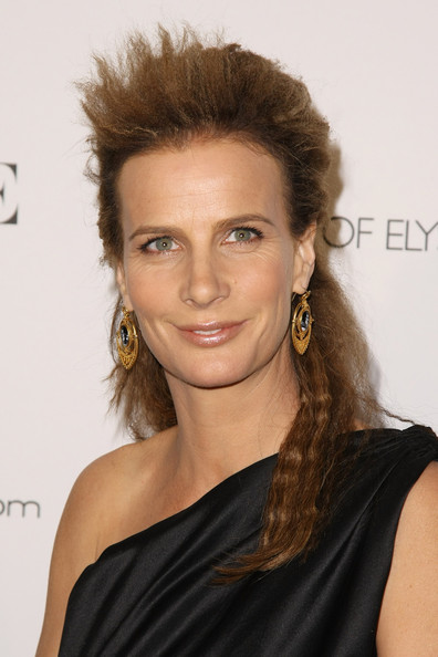 Actress Rachel Griffiths attends the Art Of Elysium