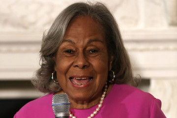 Rachel Robinson Michelle Obama Hosts Cast and Crew of '42'