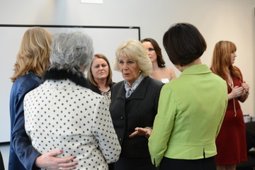 Rachel Williams The Duchess of Cornwall Visits the National Charity SafeLives