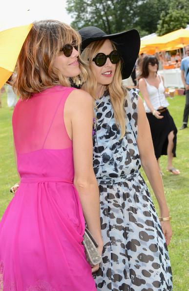 The Fifth Annual Veuve Clicquot Polo Classic - Match [clothing,white,eyewear,pink,dress,fashion,street fashion,sunglasses,yellow,shoulder,rachel zoe,delfina blaquier,veuve clicquot polo classic,match,jersey city]