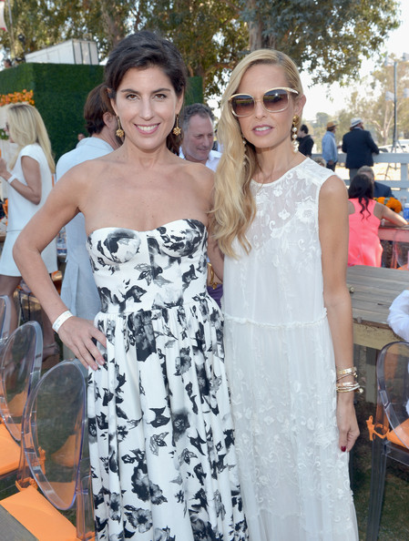 Fifth-Annual Veuve Clicquot Polo Classic, Los Angeles [white,clothing,dress,shoulder,fashion,event,eyewear,gown,strapless dress,haute couture,rachel zoe,president,vanessa kay,veuve clicquot polo classic,l,los angeles,usa,will rogers state historic park,pacific palisades,california]