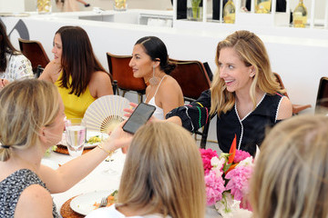 Rachelle Hruska MacPherson Saks Fifth Avenue And Rosie Assoulin Luncheon At Frieze New York