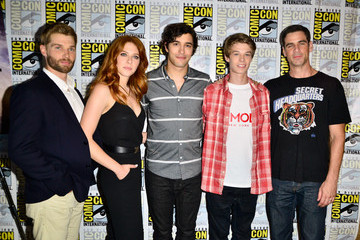 Rachelle Lefevre CBS Press Lines at Comic-Con