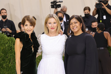 Rachna Shah Nancy Chilton The 2021 Met Gala Celebrating In America: A Lexicon Of Fashion - Arrivals