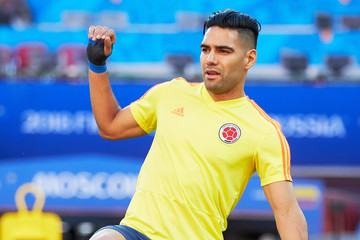 Radamel Falcao Colombia Training and Press Conference: 2018 FIFA World Cup Russia