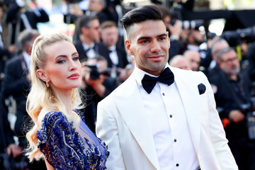 Radamel Falcao Lorelei Taron Closing Ceremony Red Carpet - The 72nd Annual Cannes Film Festival