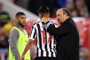 Rafael Benitez Nottingham Forest vs. Newcastle United - Carabao Cup Second Round