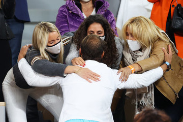 Rafael Nadal Ana Maria Parera European Best Pictures Of The Day - October 12