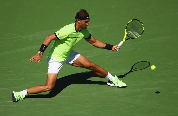 Rafa Nadal Continues To Flex His Muscles
