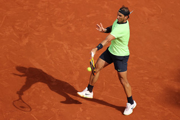 Rafael Nadal 2021 French Open - Day Seven