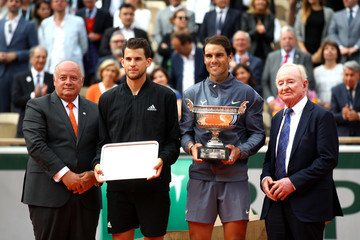 Rafael Nadal Rod Laver 2019 French Open - Day Fifteen