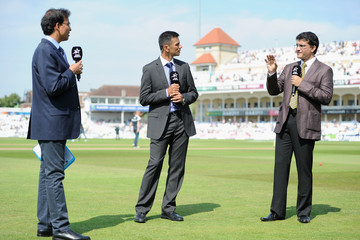 Rahul Dravid England v India: 1st Investec Test - Day Four