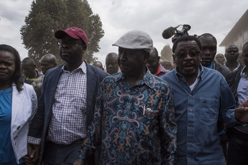 Raila Odinga Opposition Supporters Reject Kenyan Election Result