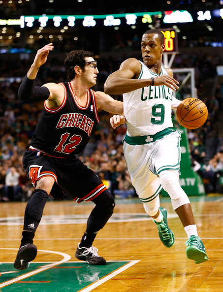 Rajon Rondo - Chicago Bulls v Boston Celtics