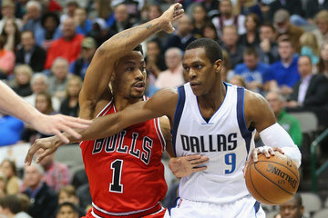 Rajon Rondo Chicago Bulls v Dallas Mavericks