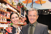 """Actor Mandy Moore (L) and The Walt Disney Company Chairman and CEO Bob Iger attend the World Premiere of Disney's """"RALPH BREAKS THE INTERNET"""" at the El Capitan Theatre on November 5, 2018 in Hollywood, California."""