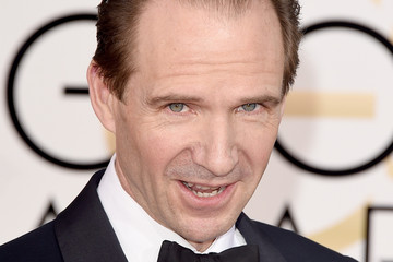Ralph Fiennes Arrivals at the Golden Globe Awards — Part 2