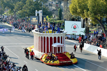 Ralph Johnson 2018 Tournament of Roses Parade Presented By Honda