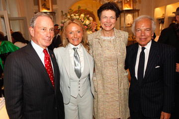 """Michael Bloomberg Diana Taylor Ralph Lauren Celebrates The Publication Of """"The Hamptons: Food, Family and History"""" By Ricky Lauren"""